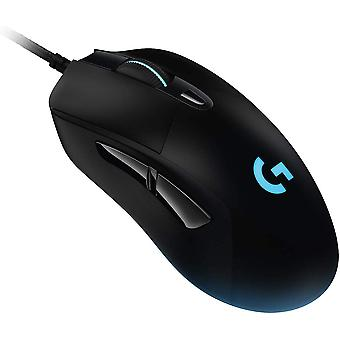 Logitech G403 Hero RGB Wired Gaming Mouse (Version Europe de l'Ouest) - Noir