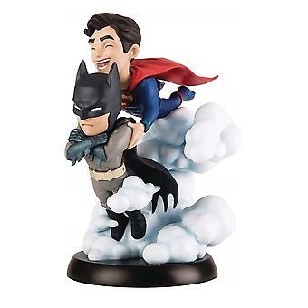Q-Fig Statuette, Superman & Batman - Worlds finest