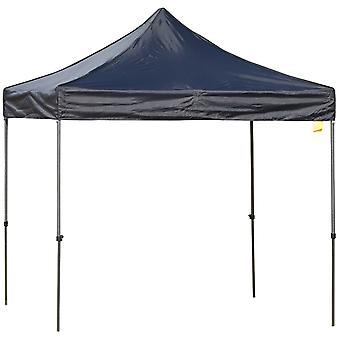 Outsunny 2.9m x 2.9m Pop Up Gazebo Marquee Party Tent  Canopy w/ Sand Bag- Black