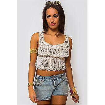 Tikki Crochet Bralet Top