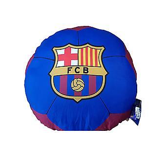 Cojine relleno en forma de fútbol del FC Barcelona