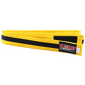 Tatami Fightwear Kids BJJ Rank Yellow/Black Belt
