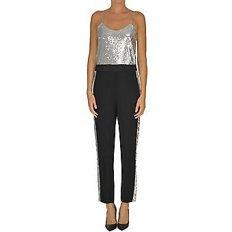 Nam-myo Ezgl430004 Women's Silver Polyester Jumpsuit