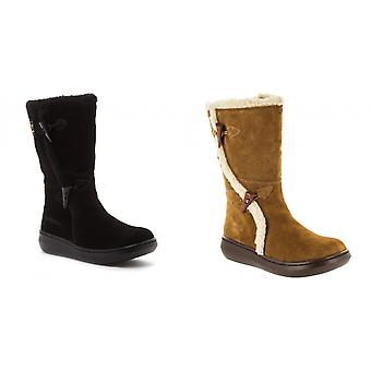 Raket hond Womens/dames helling mid kalf winter boot