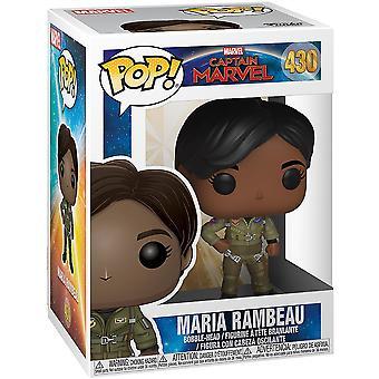 Funko Kapitan Marvel Pop! Vinyl Maria Rambeau Kolekcjonerskie figury #430