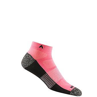 Wigwam Attain Midweight Low Run Socks Womens ! Bubble Gum