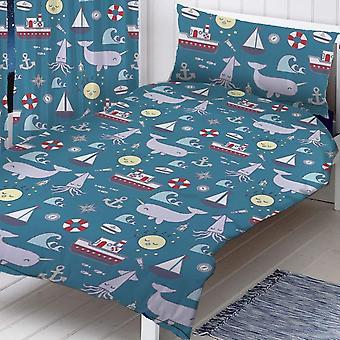 S Collins Sea Toddler Duvet Set