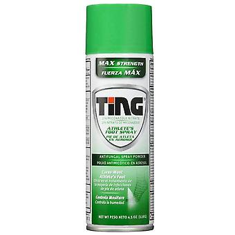 Ting foot & jock itch, antifungal spray powder, 4.5 oz