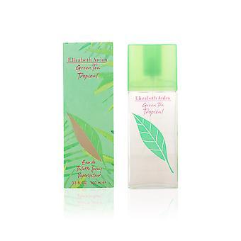 Elizabeth Arden chá verde Tropical Edt Spray 100ml para as mulheres