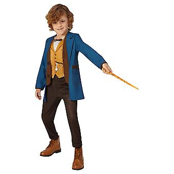 Harry Potter Childrens/Kids Newt Scamander Deluxe Costume