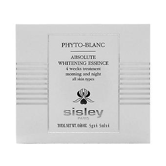 Sisley phyto-blanc absoluuttinen valkaisuun olemus 4 viikkoa hoito 5ml x 4 ampulleja 0.68oz