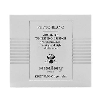 Sisley phyto-blanc essence de blanchiment absolu 4 semaines de traitement 5ml x 4 ampules 0.68oz