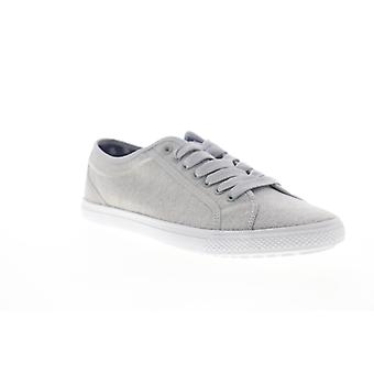 Ben Sherman Conall LO Miesten Harmaa Canvas Low Top Lifestyle Lenkkarit Kengät
