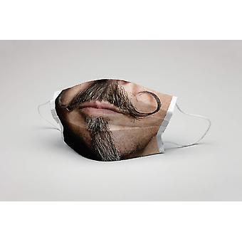 Suu naamio viikset parta pestävä naamio suojaava naamio parta naamio ökotex