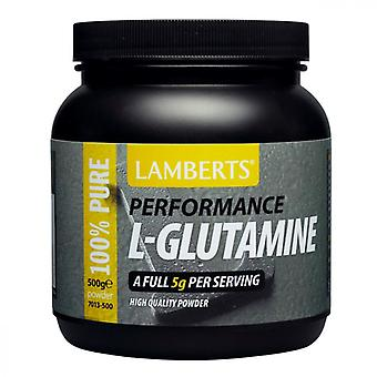 Lamberts Performance L-Glutamine Powder 500g (7013-500)