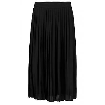 Masai Clothing Sunny Black Pleated Skirt