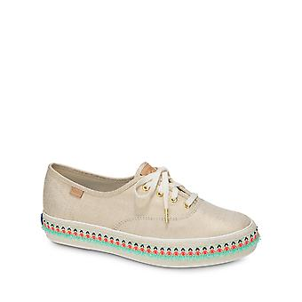 Keds Femmes-apos;s Triple Hula Foxing Natural Gold Sneakers