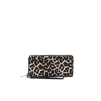 MICHAEL KORS JET SET TRAVEL CONTINENTAL ANIMALIER WALLET