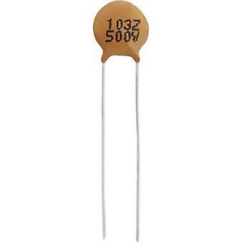 TRU COMPONENTS TC-K10NF500V Ceramic capacitor THT 10 nF 500 V 20 % 1 pc(s)