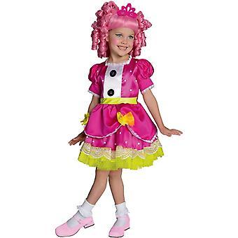 Juvel Sparkless Lalaloopsy barn kostym