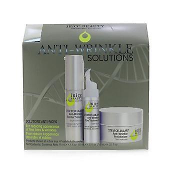 Juice Beauty Anti-Wrinkle Solutions Kit: Voor het verminderen van het uiterlijk van fijne lijntjes en rimpels 3pcs