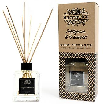 Petitgrain & Rosewood Essential Oil Reed Diffuser 200ml