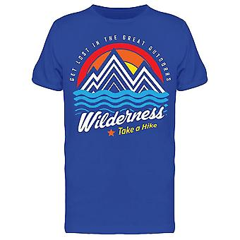Mountain Wilderness Tee Men-apos;s -Image par Shutterstock