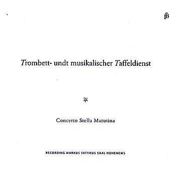 Biber/Rittler/Poglietti/Vejvanovsky/Schmelzer - Trombett- Undt Musikalischer Taffeldienst [CD] USA import