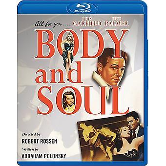 Body & Soul (1947) [BLU-RAY] USA import