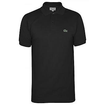 لاكوست كلاسيك L1212 أسود بولو قميص