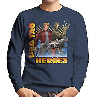 Marvel Guardians Of The Galaxy Rag Tag Heroes Men's Sweatshirt