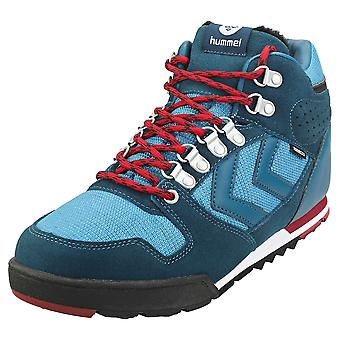 hummel Nordic Roots Forest Mens Casual Boots in Blue