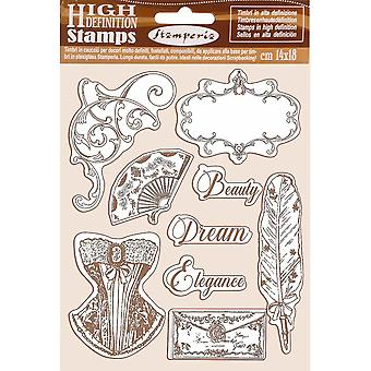 Stamperia Natural Rubber Stamp Princess