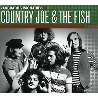 Country Joe & le poisson - importation USA visionnaires Vanguard [CD]