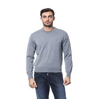 Milliardaire italien Couture Grich Lt Grey Sweater -- BI81092784