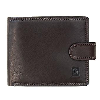 Primhide Mens Leather RFID Blocking Wallet Gents Notecase Card Holder 3088