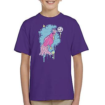 Rooster Heart Kid's T-Shirt