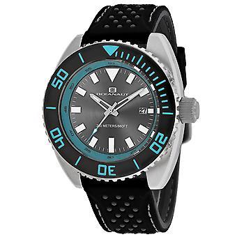 795, Oceanaut Men 'S Oc0521 Quartz Black Watch
