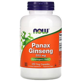 Nu Foods, Panax Ginseng, 500 mg, 250 Vegetarisch Capsules