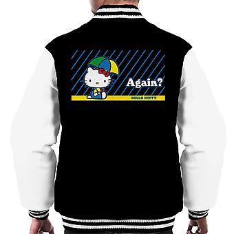 Hallo Kitty Regen wieder Men's Varsity Jacke