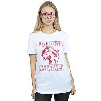 Pink Floyd Women's Animals Algie Boyfriend Fit T-Shirt