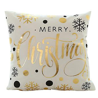 YANGFAN Christmas Series Bronzing Pillowcase