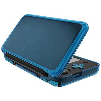 Zedlabz flexi gel tpu protector case cover for nintendo 2ds xl – blue