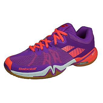 Babolat Shadow Tour Womens Badminton Shoes / Trainers - Purple