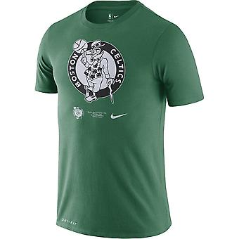 Nike Nba Boston Celtics Dri-fit T-shirt Grün