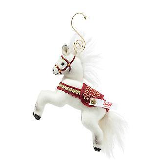 Steiff عيد الميلاد الحصان زخرفة 10 سم