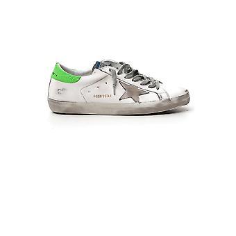 Goldene Gans Gmf00101f00036210286 Herren's Sneakers aus weißem Leder