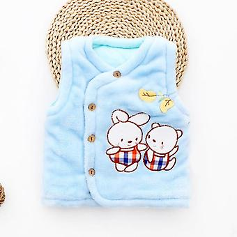 New Born Baby Vest Waistcoat Kids Jackets Clothes Sleeveless Toddler Winter