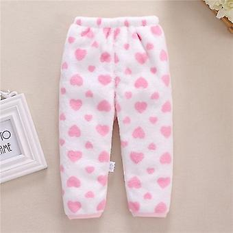 Newborn Baby Pants Winter Warm &baby Pants Fleece Solid - Newborn Baby Pants