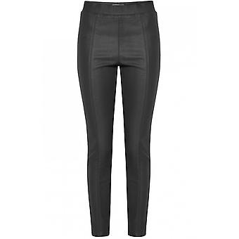 b.young Lola Black Wet Look Leggings